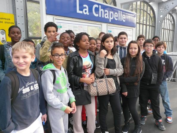 En visite à La Chapelle