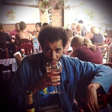 bar à Vientiane, ou nous entendime Bibi Tanga