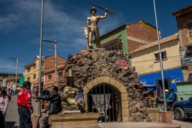 La mine de Potosi a fait la richesse de la ville
