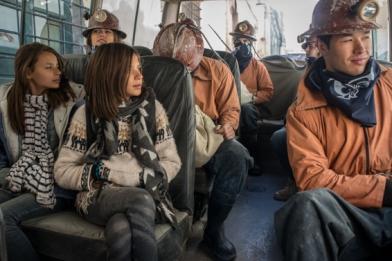Nous partons avec un groupe de touristes, mais ne rentrerons pas dans la mine
