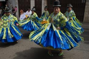 Défilé du 1er mai à Sucre