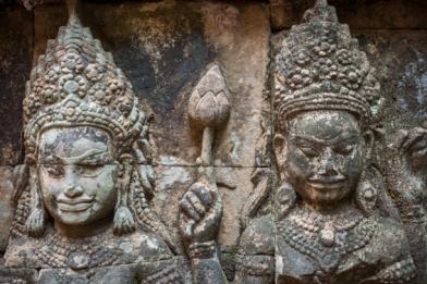 Angkor, la terrasse du roi lepreux