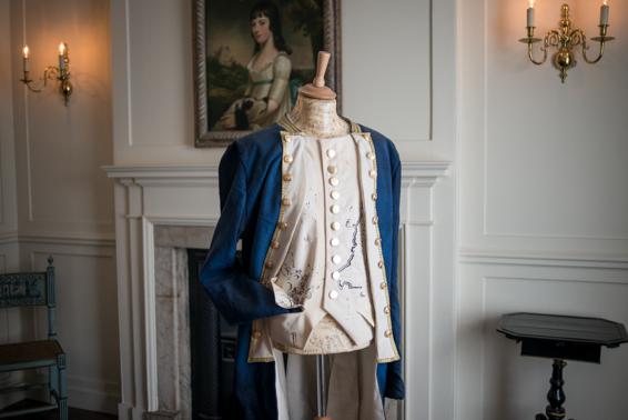 Le costume du Capitain Cook (1728-1779), premier européen à débarquer sur la côte est de l'Australie.